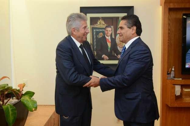 Se reúnen Silvano Aureoles y titular de la SCT para revisar proyectos de infraestructura para Michoacán