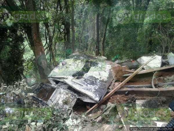Mueren calcinados dos empleados de empacadora, en Parangaricutiro, Michoacán