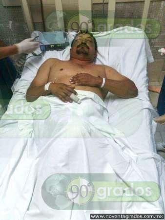 Atacan a tiros a elemento de la Fuerza Rural en Buenavista, Michoacán