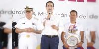 Que Michoacán sea sede del Campeonato Mundial de Motonáutica en 2018: Silvano Aureoles