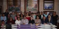 Respalda Iris Vianey Mendoza a liderazgos, consejeros y representantes del PRD en Michoacán