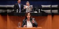 Luisa María Calderón urge al Congreso de la Unión aprobar Mando Mixto