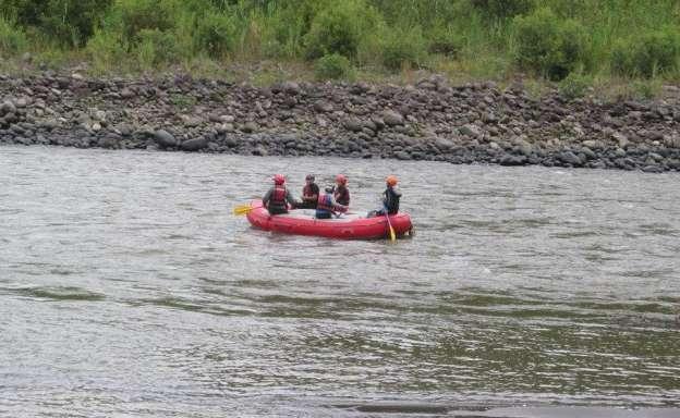 Suspenden búsqueda de cadáver en río de Churumuco, Michoacán