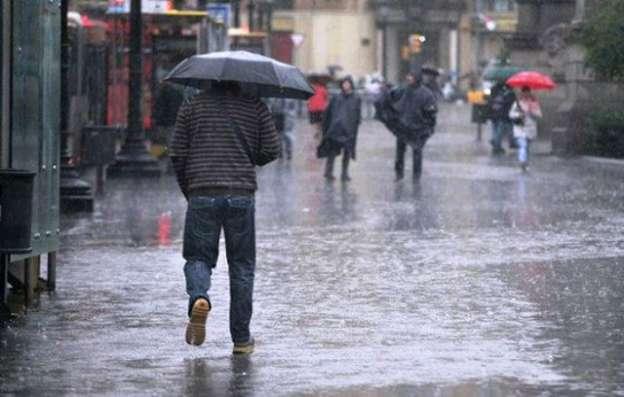 Pronostica SMN lluvias fuertes en 14 entidades del país