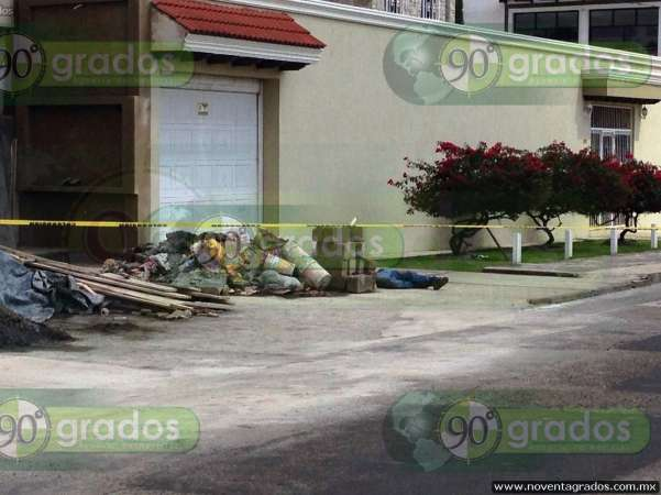 Asesinan a hombre en Uruapan, Michoacán