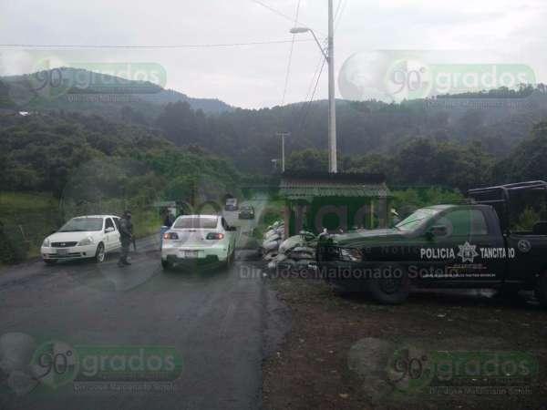 Balacera en Tancítaro, Michoacán, deja dos muertos