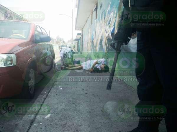 Ejecutan a hombre en calles de Morelia; hay dos detenidos