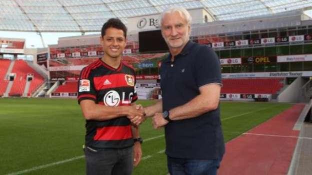 Chicharito Hernández, nuevo jugador del Bayer Leverkusen