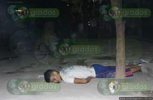De varios balazos, ejecutan a joven ciclista en Apatzingán, Michoacán