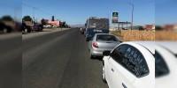 CNTE llega al centro de Morelia con su caravana motorizada