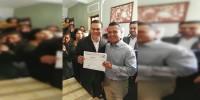 Carlos Torres Piña se registra como precandidato al Senado de la República