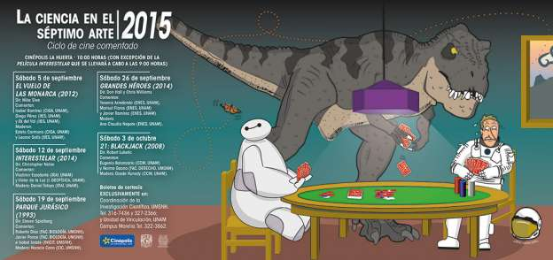 Presentan UNAM Y UMSNH ciclo de cine comentado en su edición 2015