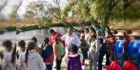 Juan Pablo entrega obra de rehabilitación de compuerta en Tarejero