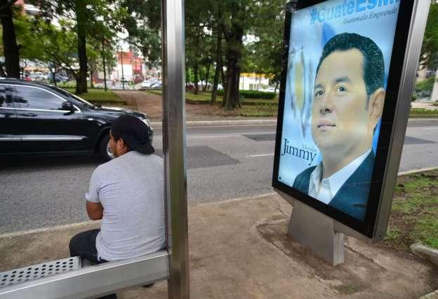 Excomediante, favorito para la Presidencia de Guatemala