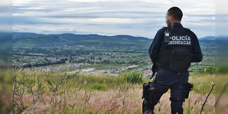 Cumple Michoacán en materia de desarrollo policial