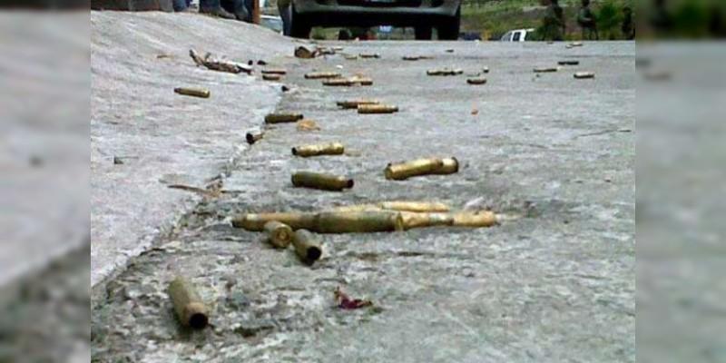 Rafaguean a balazos casa en Chilpancingo, Guerrero