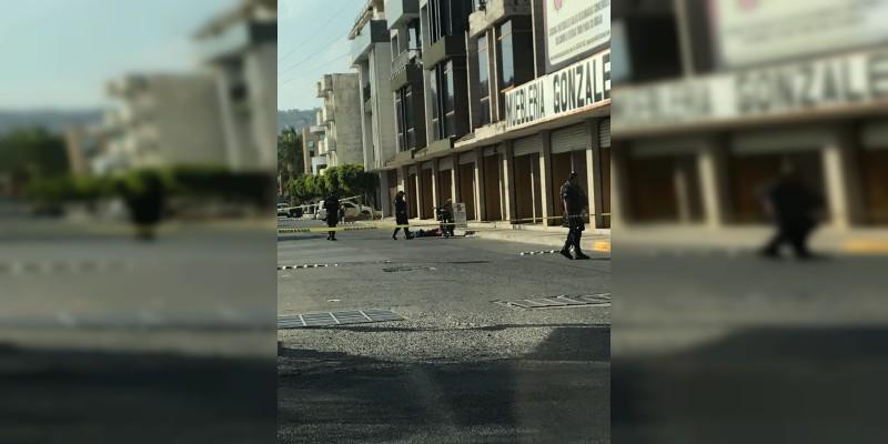 Sahuayo: Un muerto y un herido saldo de balacera