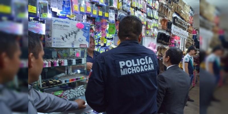La Secretaría de Seguridad Pública de Michoacán iniciará operativo de vigilancia para Día de Reyes