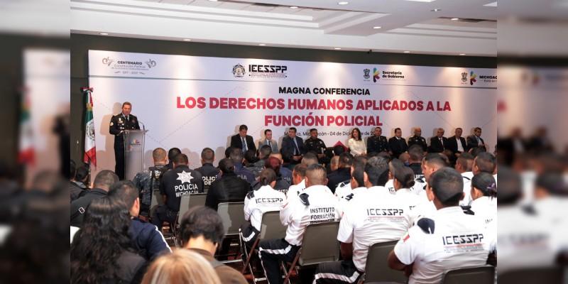 El IEESSPP, comprometido con forjar a los mejores policías de México