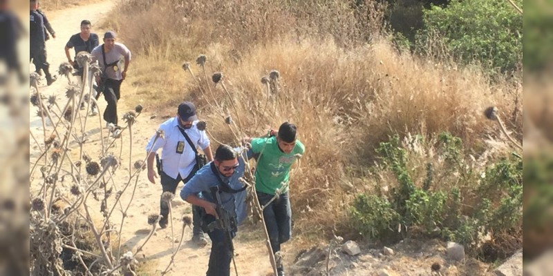 Capturan a sujeto que realizó detonaciones de arma de fuego