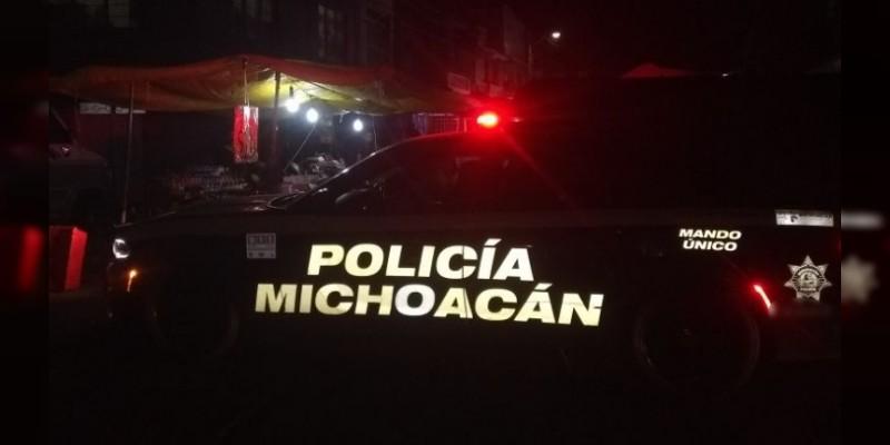 Detienen a dos sujetos por agredir a mujer embarazada en Morelia
