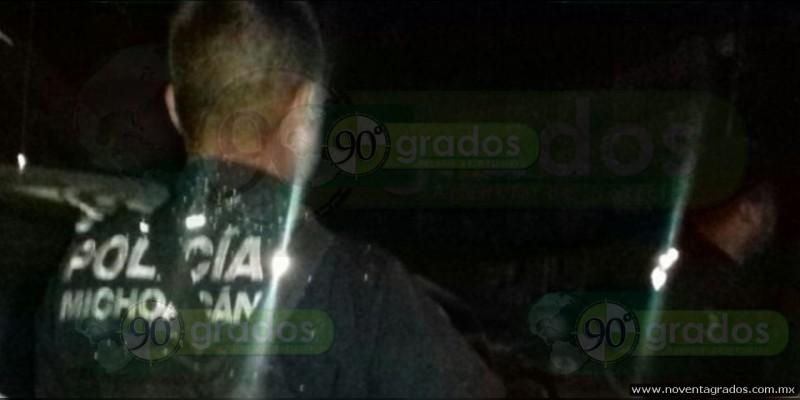 Detiene Seguridad Pública a cinco sujetos en Zitácuaro