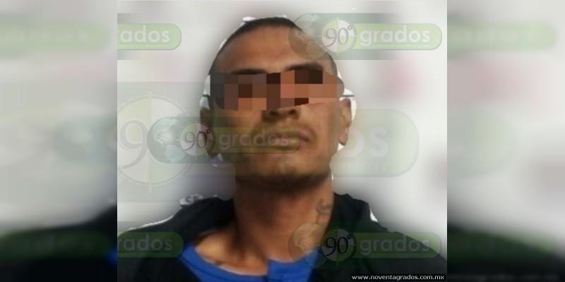 Lo detienen tras intento de asesinato en Tlazazalca, Michoacán