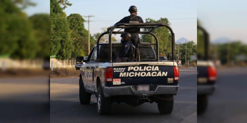 Libera SSP rúas de comunicación en Puruándiro y Zitácuaro