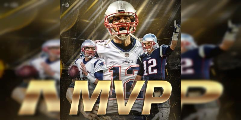 Tom Brady es nombrado el jugador más valioso de la NFL