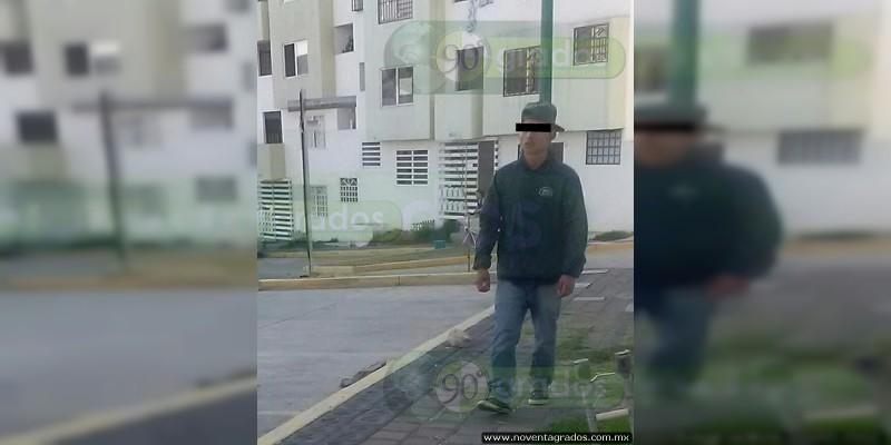 Detienen a menor, presunto ladrón en Villas Oriente, en Morelia, Michoacán