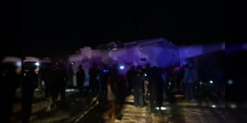Cae helicóptero con Navarrete Prida y Alejandro Murat en Oaxaca, hay tres muertos