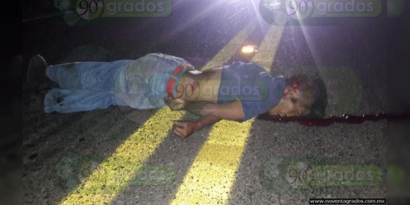 Muere atropellado sobre el libramiento de Zamora, Michoacán