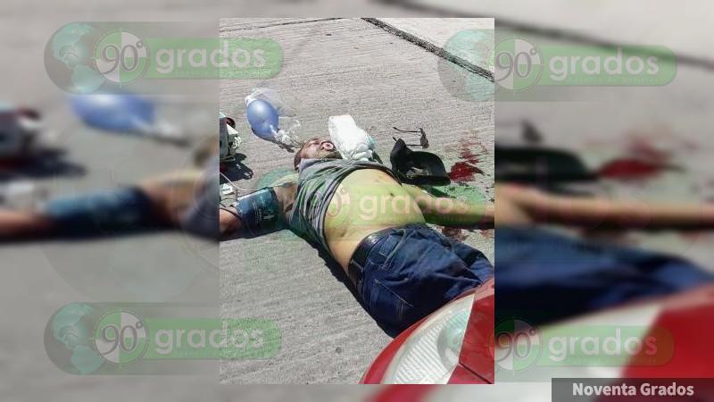Asesinan a hombre en Morelia, Michoacán
