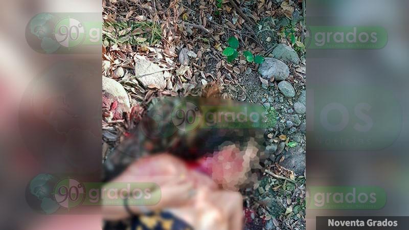 Asesinan a mujer en Petatlán, Guerrero