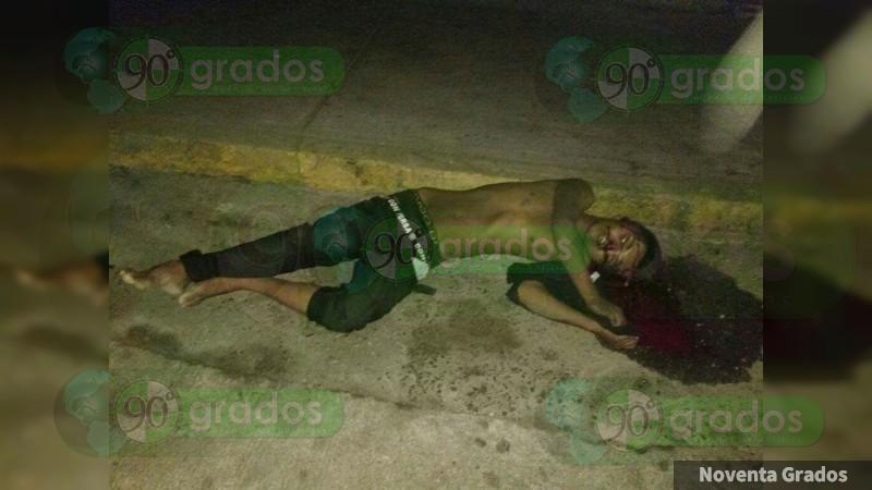 Asesinan a joven en pleno Centro de Acapulco, Guerrero