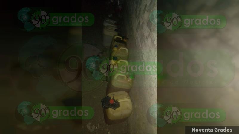 Investiga PGR aseguramiento de gasolina en Lázaro Cárdenas, Michoacán