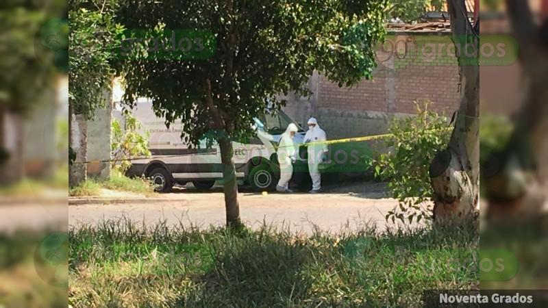 Asesinan a balazos a un hombre en Morelia, Michoacán