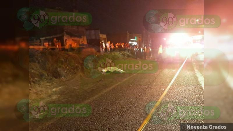 Muere adolescente al ser atropellada en Morelia, Michoacán