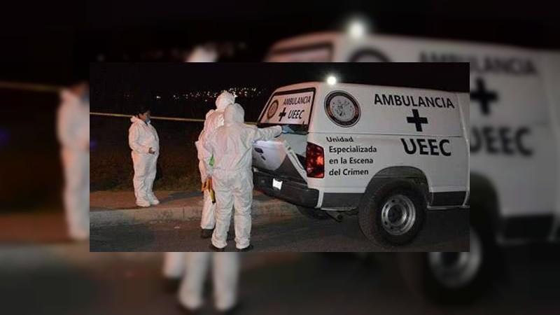 Ataque a balazos deja 1 muerto y 2 heridos en Zinapécuaro, Michoacán