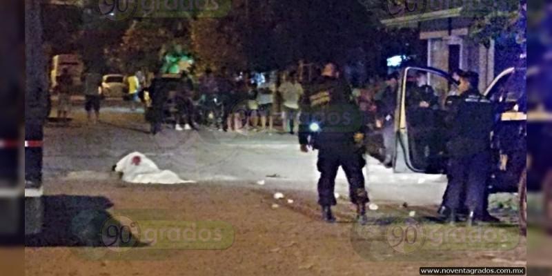 Asesinan a sujeto antes detenido con armas largas en Lázaro Cárdenas, Michoacán