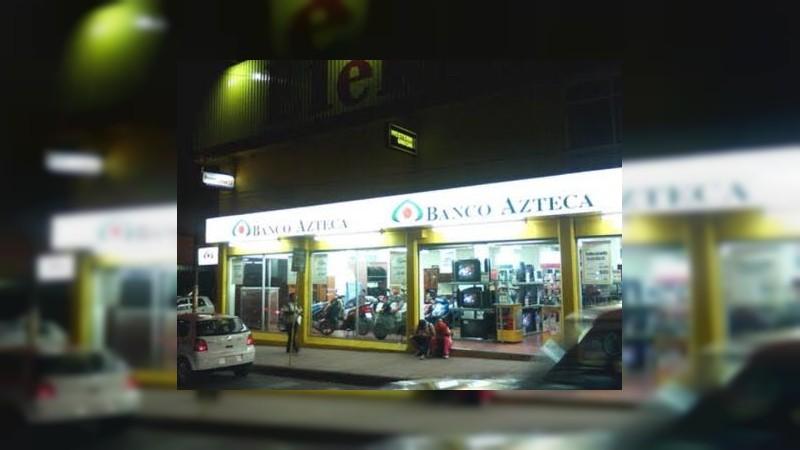 Se registra balacera tras asalto a tienda Elektra en Zinapécuaro, Michoacán