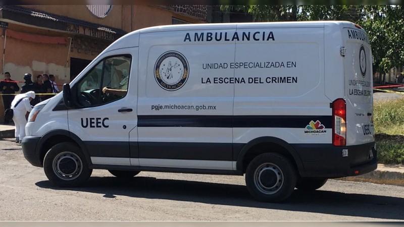 Ejecutan a sujeto en Lázaro Cárdenas, Michoacán