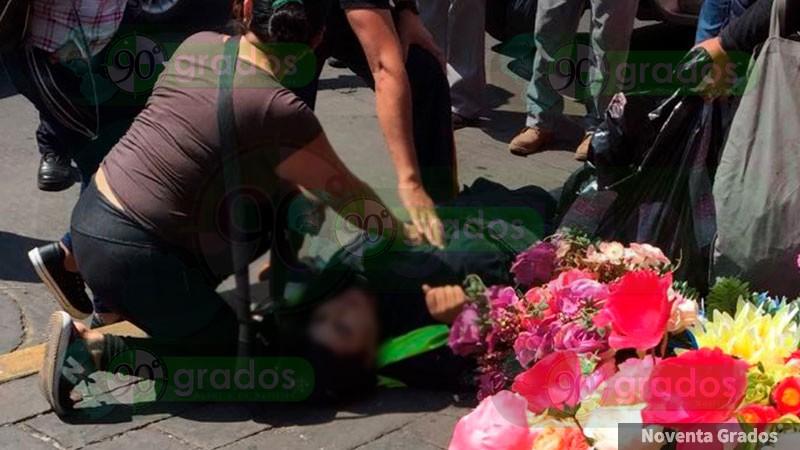 Una policía es herida por bala en Zamora, Michoacán