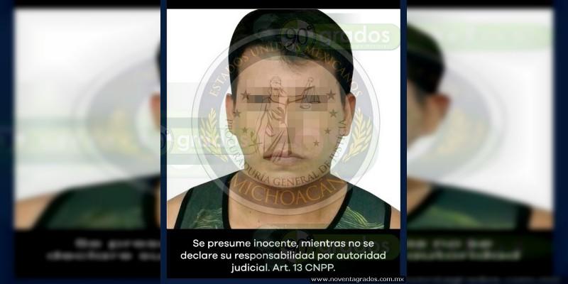 Detienen a presunto asesino de su propio hermano, en Lázaro Cárdenas, Michoacán