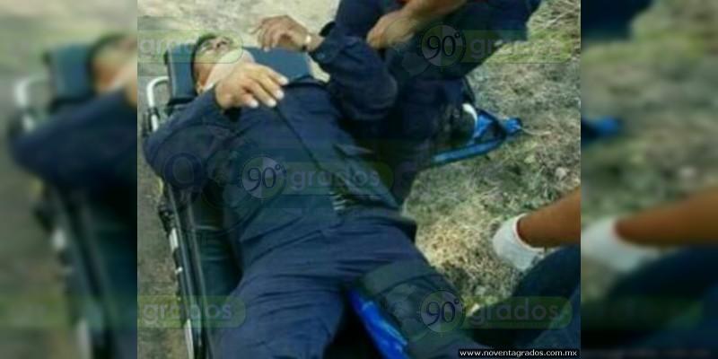 Se accidenta alcalde de Buenavista, Michoacán; hay dos heridos
