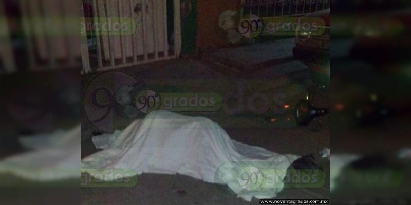 Persona muere tras caer de bicicleta en Zamora, Michoacán