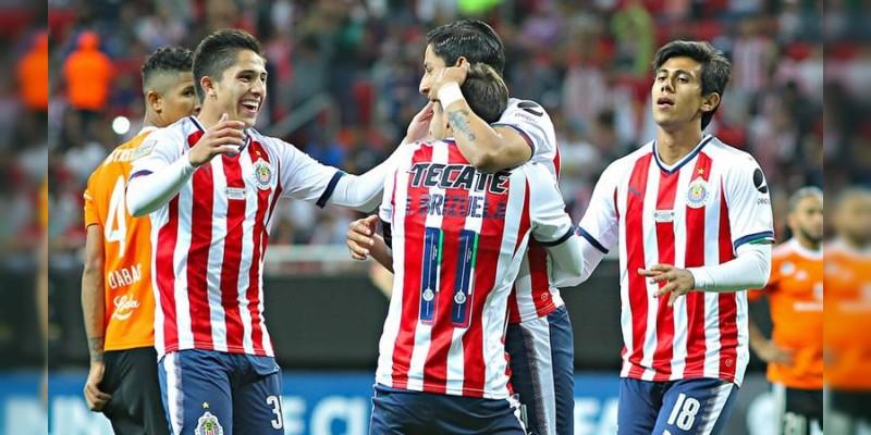 Chivas aplastó al Cibao y está en Cuartos de Concacaf  Liga de Campeones