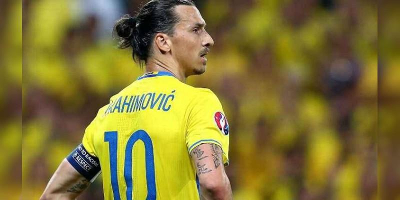 Zlatan Ibrahimovic si jugaría el Mundial de Rusia