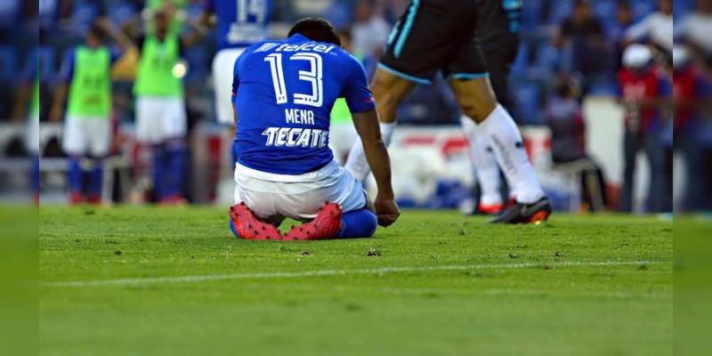 Cruz Azul se hunde en la Liga MX