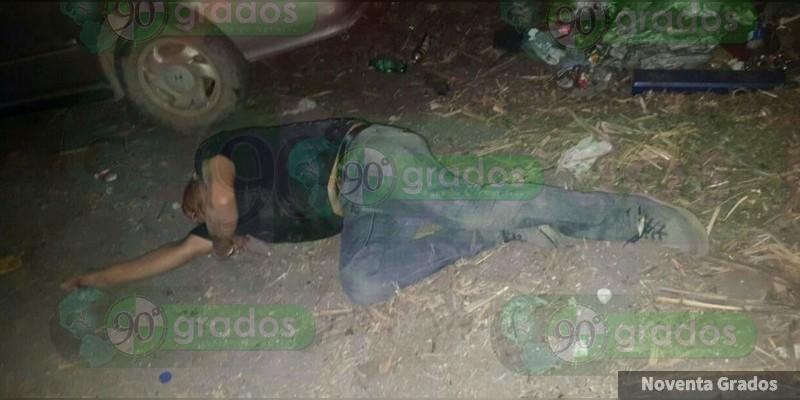 Balean a un hombre en Tacámbaro, Michoacán; está grave